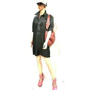 Ralph Lauren Polo Denim Mini Dress- Size Medium